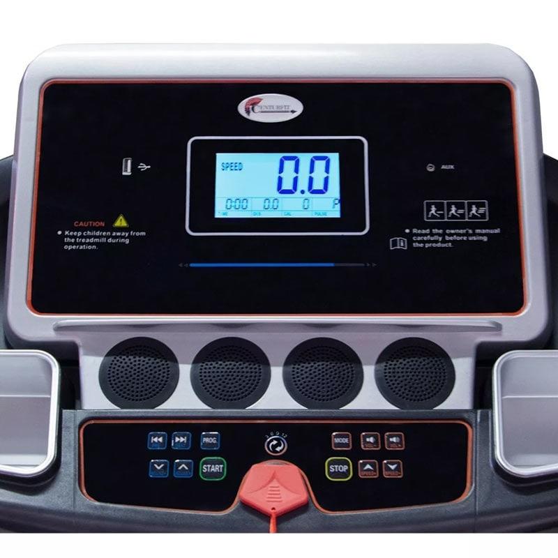 Caminadora 3 Hp Electrica Inclinacion Automatica 140Kg 3 Niveles Pantalla LCD Ahorra Energia Centurfit