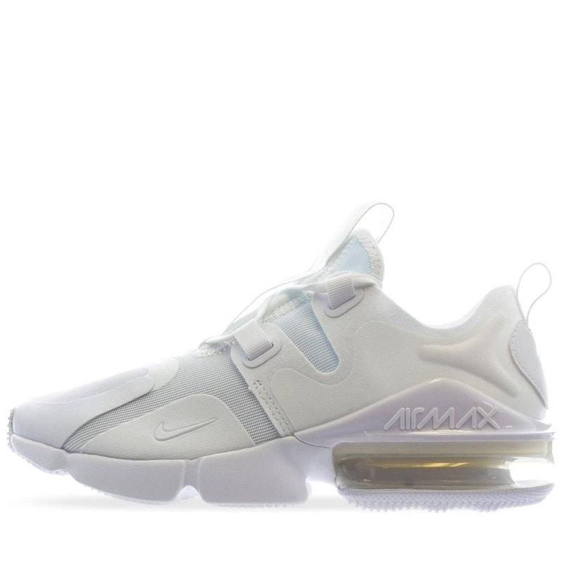 trigo No se mueve Abultar  Tenis Nike Air Max Infinity blancos para mujer