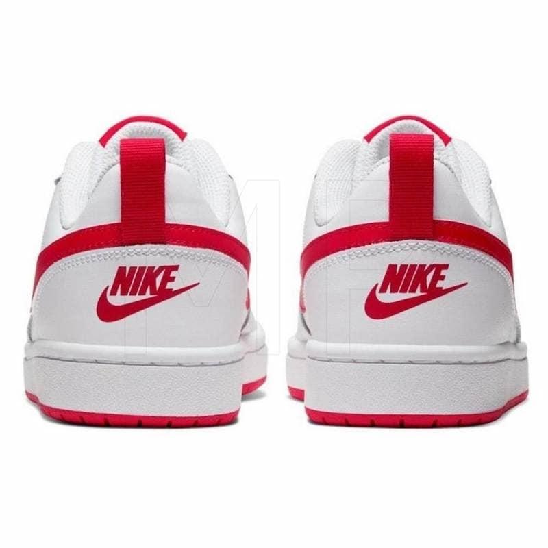zapatos nike blanco y rojo