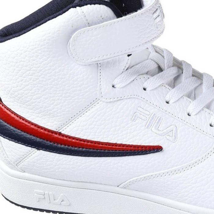 Tenis FILA Hombre AHIGH NAVY Blanco