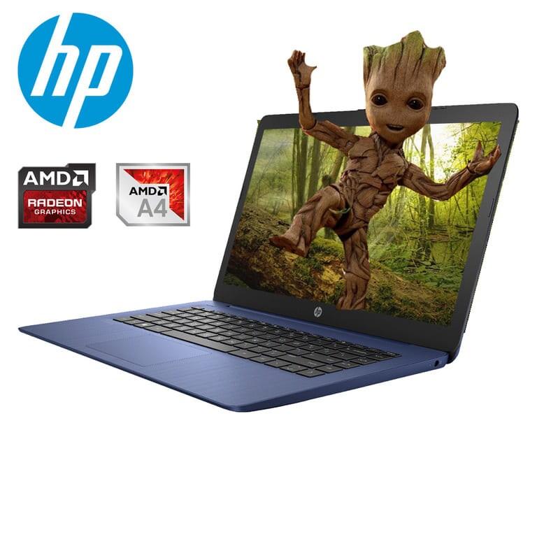 Laptop Hp Stream 14-ds0003dx A4-9120e 64gb-4gb - Azul