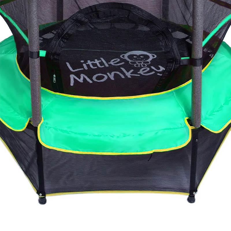 Brincolin Trampolin Uso Rudo 1.4 Mts Infantil Tumbling Verde