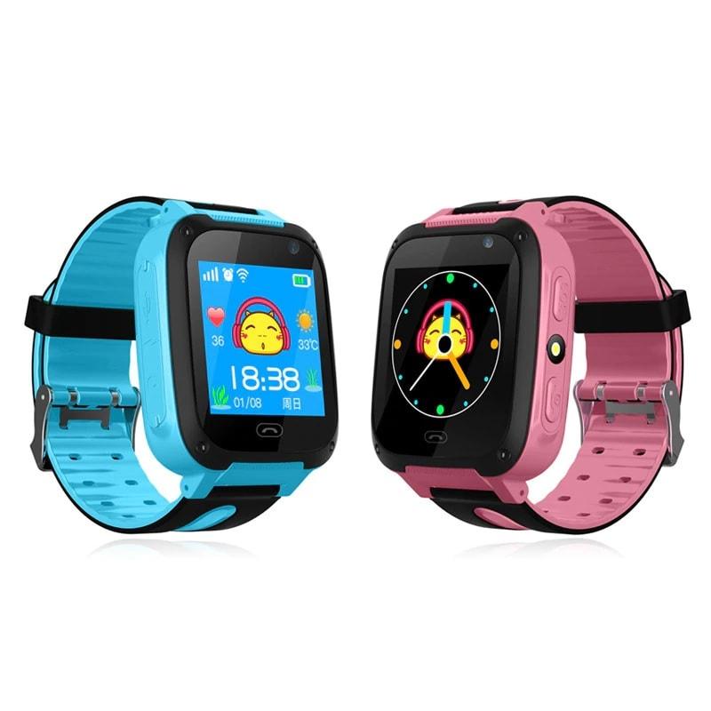 Máquina de escribir radio enero  Reloj GPS para niños smartwatch reloj inteligente con cámara fotogr�