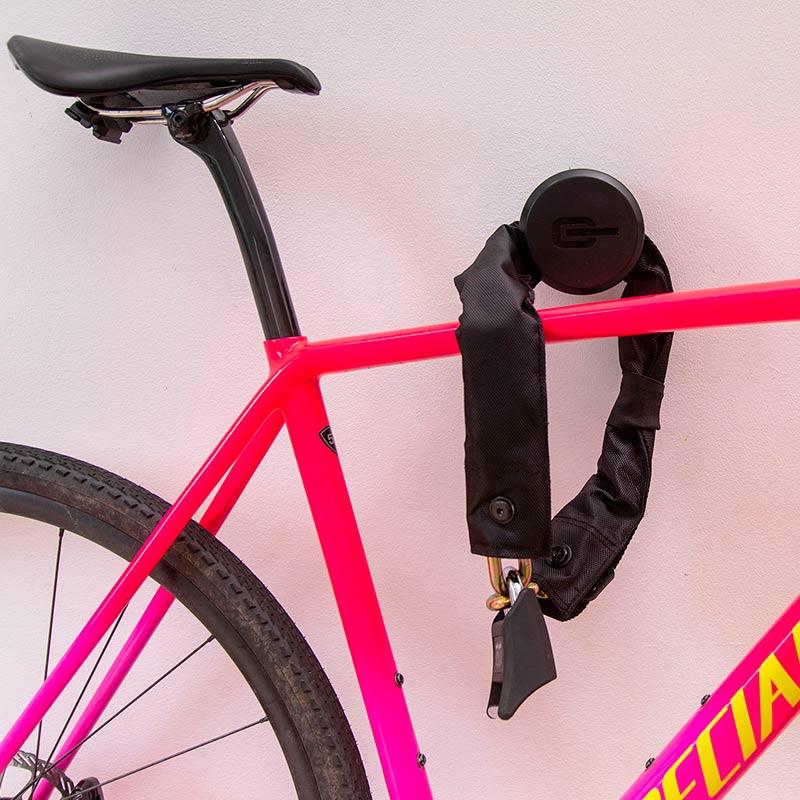 Candado de seguridad para bicicleta Candado de seguridad de anillo resistente