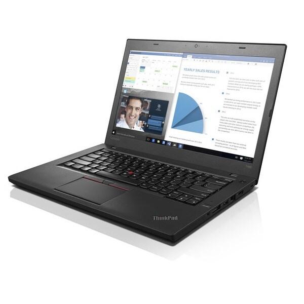 "Laptop Lenovo ThinkPad T460 Core i5-6a Generacion 16GB Ram Disco Duro 500 14""   Equipo Clase B, Reacondicionado"