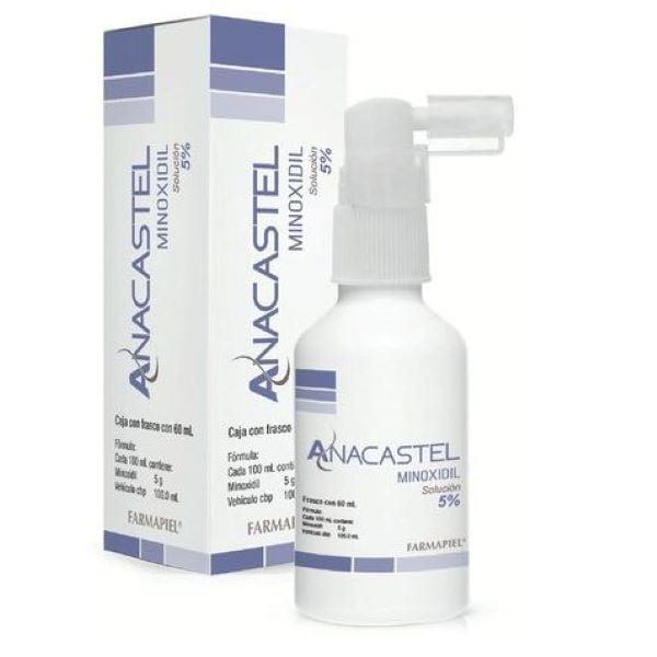 Anacastel Minoxidil 5% Tratamiento Barba y Cabello