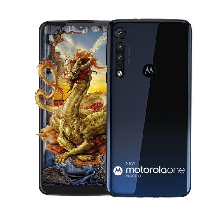 Celular Motorola Moto One Macro 64Gb Azul