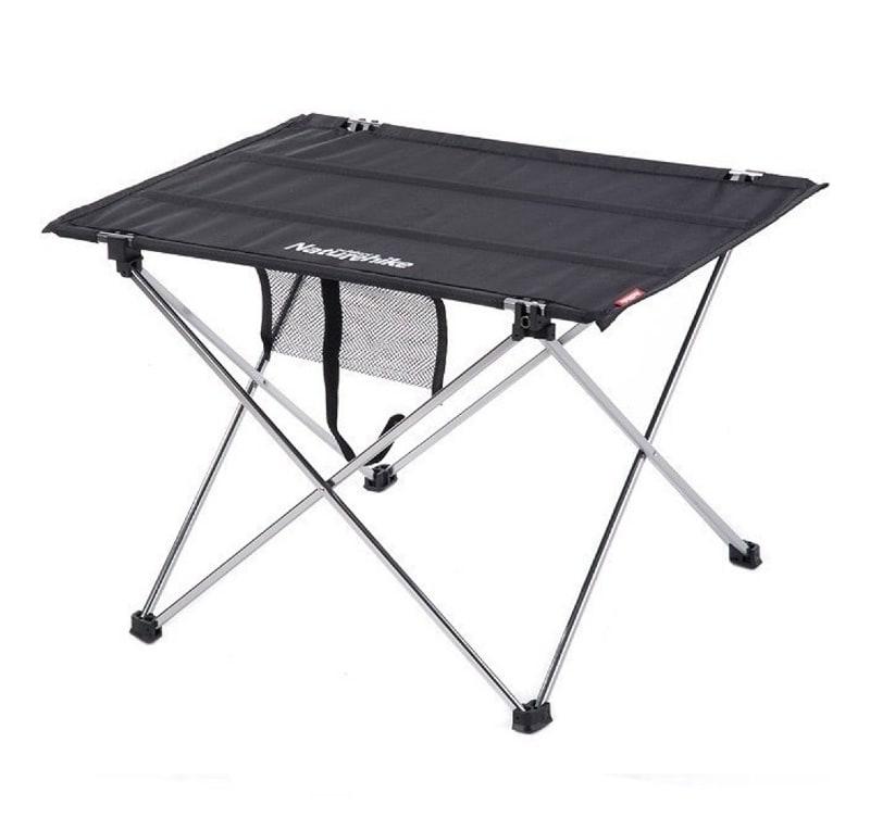 Ever Advanced Mesas de Acampada Plegable de Aluminio Ligero y Plegable para 4 Personas Mesa Compacta con Bolsa de Transporte para Camping Picnic Patios Barbacoas