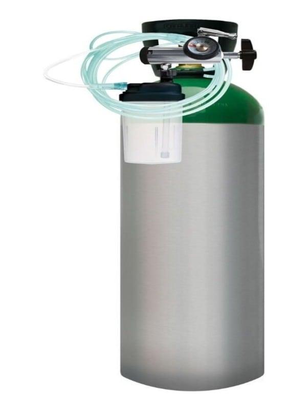 Tanque De Oxigeno 1700lt Portatil Carrito Kit Completo