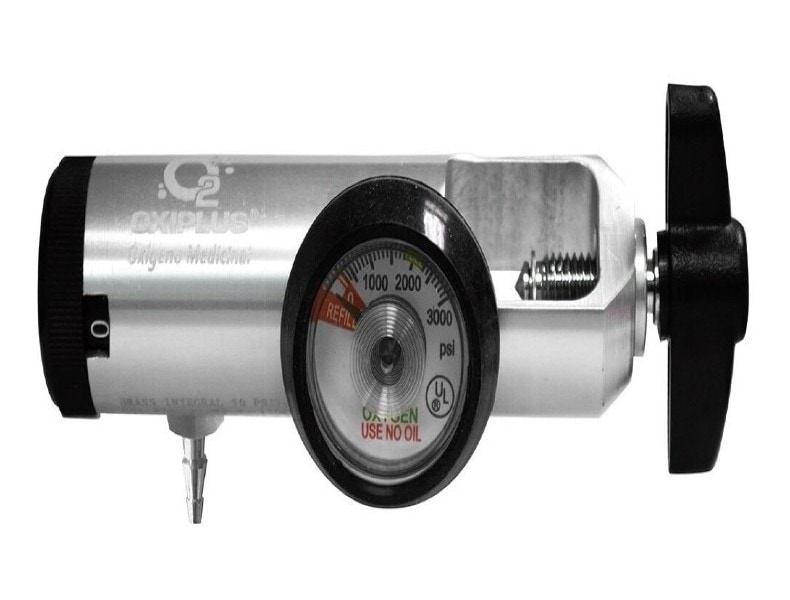 Tanque De Oxigeno Kit Completo M6 170 Litros Marca Oxiplus