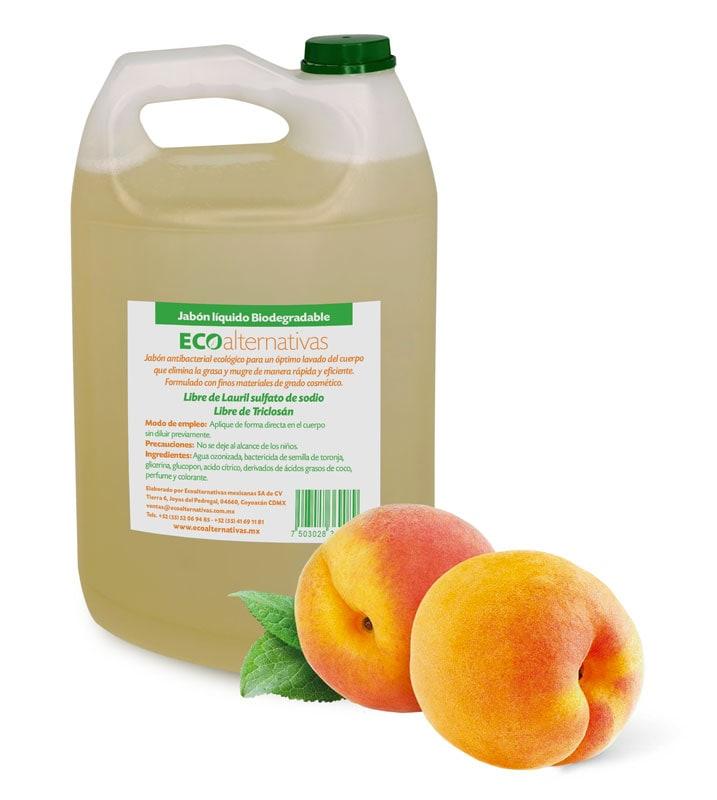 Jabón Líquido Biodegradable Antibacterial 4L de Ecoalternativas