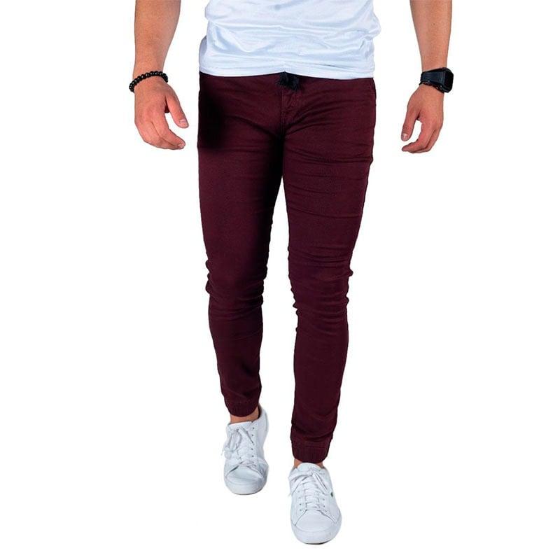 Pantalon Jogger Gabardina Para Hombre Strech