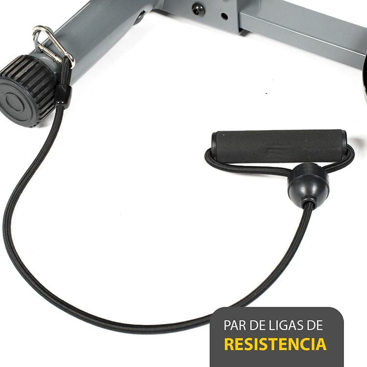 Escaladora elíptica 4 EN 1 - STATS SPORTS con Twister y porta celular