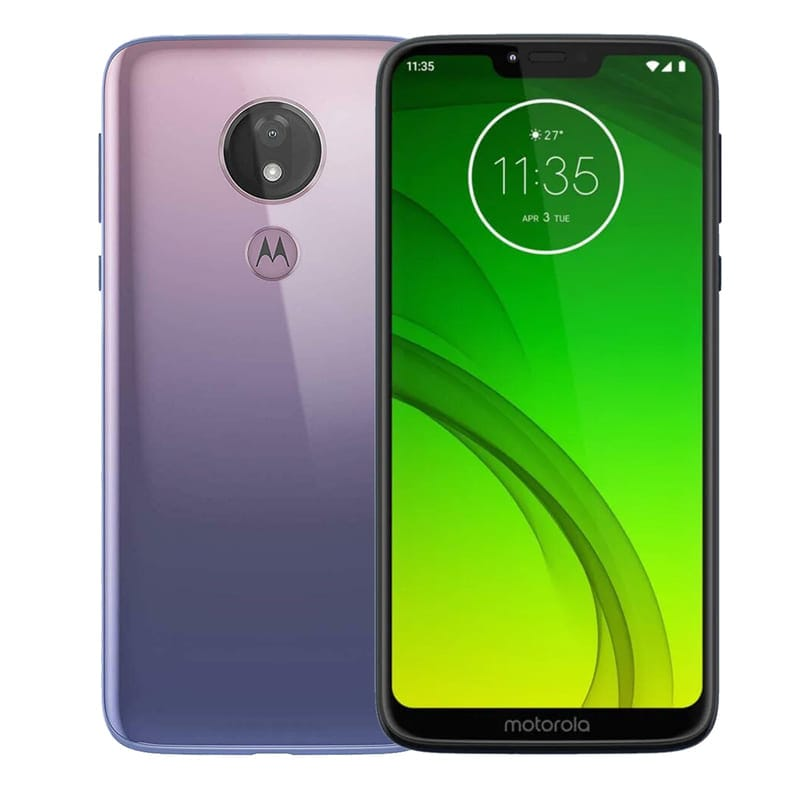 Celular Motorola Moto G7 Power 64Gb 4GB DualSim - Violeta + Audifonos
