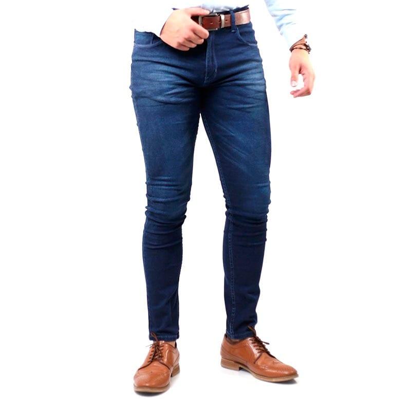 Pantalon Skinny Mezclilla Strech Para Hombre