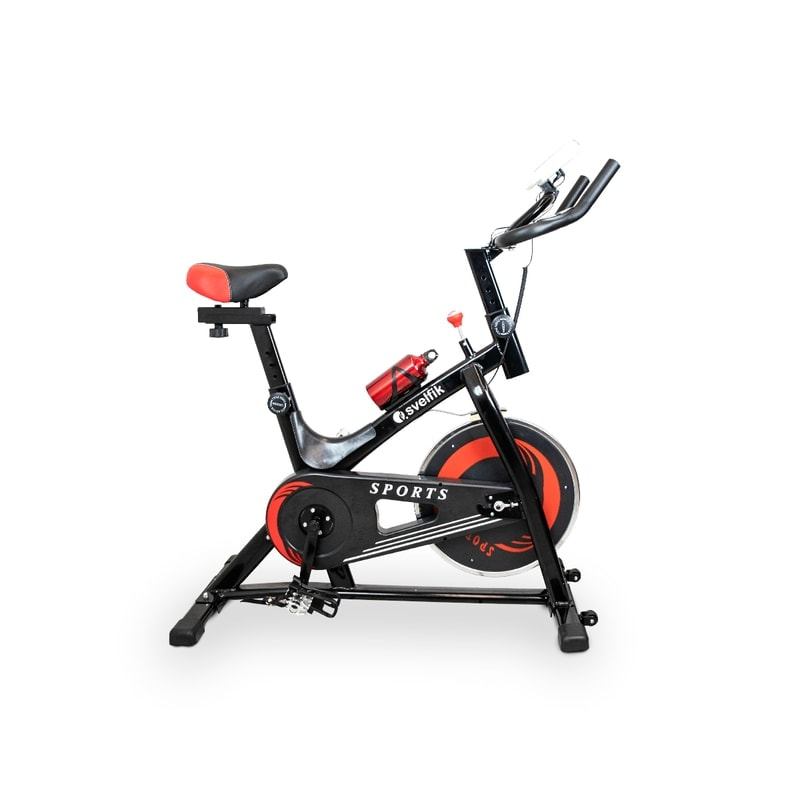 Bicicleta Fija Spining Gimnasio 6kg Svelfik Cardio Gym 150kg