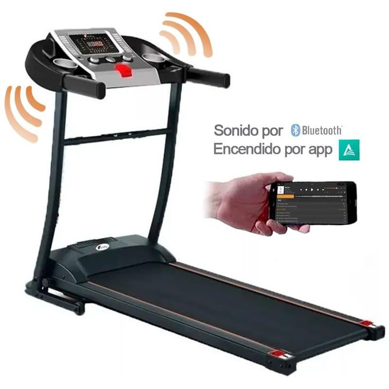 Caminadora Elictrica Centurfit Walk 1.5 Hp Gym con Bocinas  Pantalla Led 12 Programas USB Auxiliar