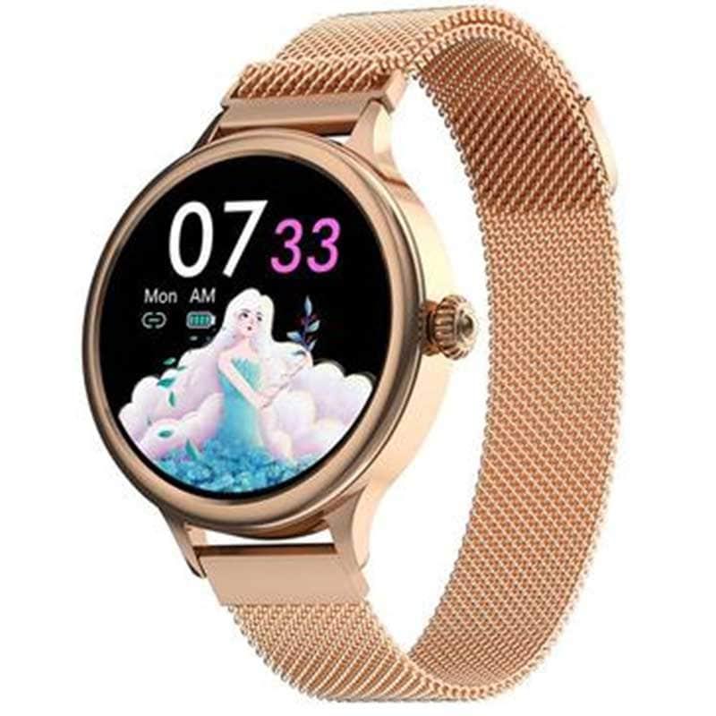 Smartwatch Reloj Inteligente de Lujo para Dama KW10