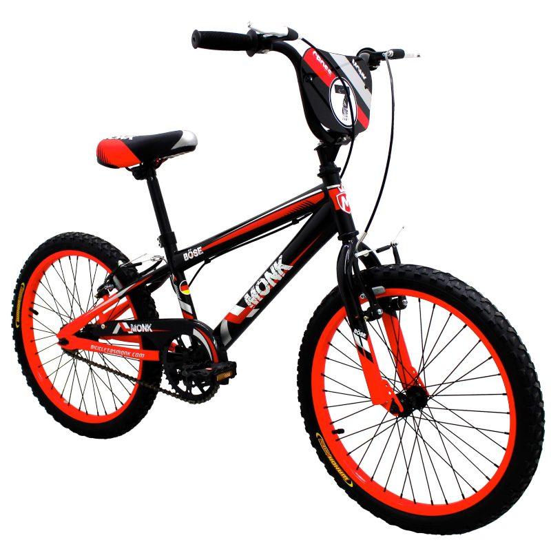 Bicicleta Para Niño Rodada 16 1 Velocidad Monk Bose Cross Rojo