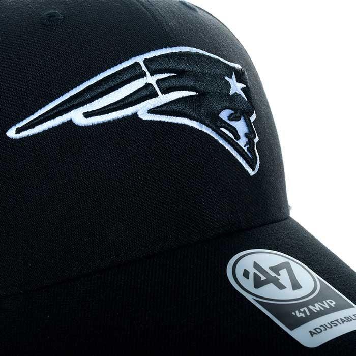 Gorra 47 Unisex Black New England Patriots Mvp F-MVP19WBV-BKA