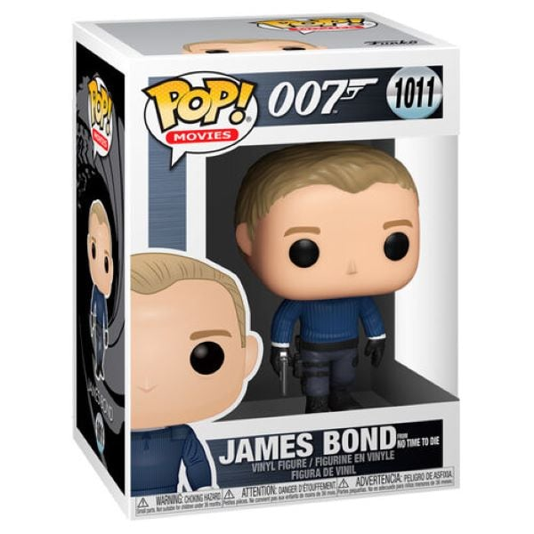 Funko Pop  James Bond (No Time To Die) - James Bond
