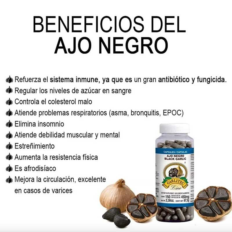 Ajo Negro 150 Cápsulas