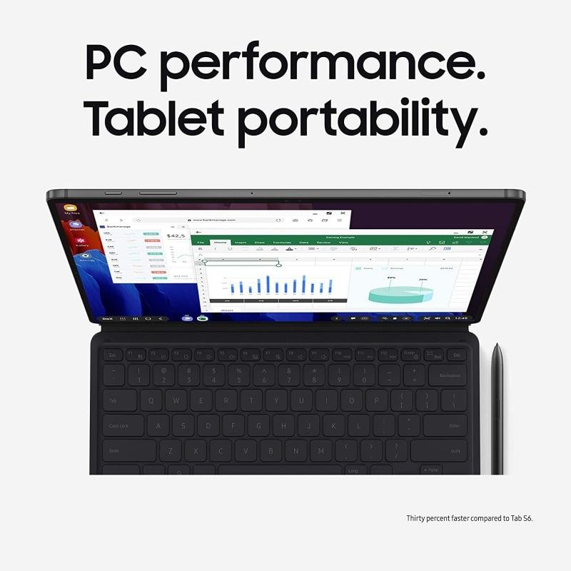 Samsung Galaxy Tab S7 256gb Con S Pen 11 Pulgadas Tableta Wi-Fi Color Negra