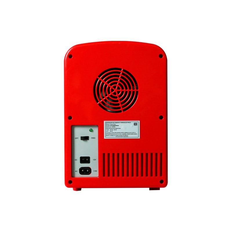 Mini Refrigerador Dace Coca Cola Idiomas ETCOKE0602I 6 latas
