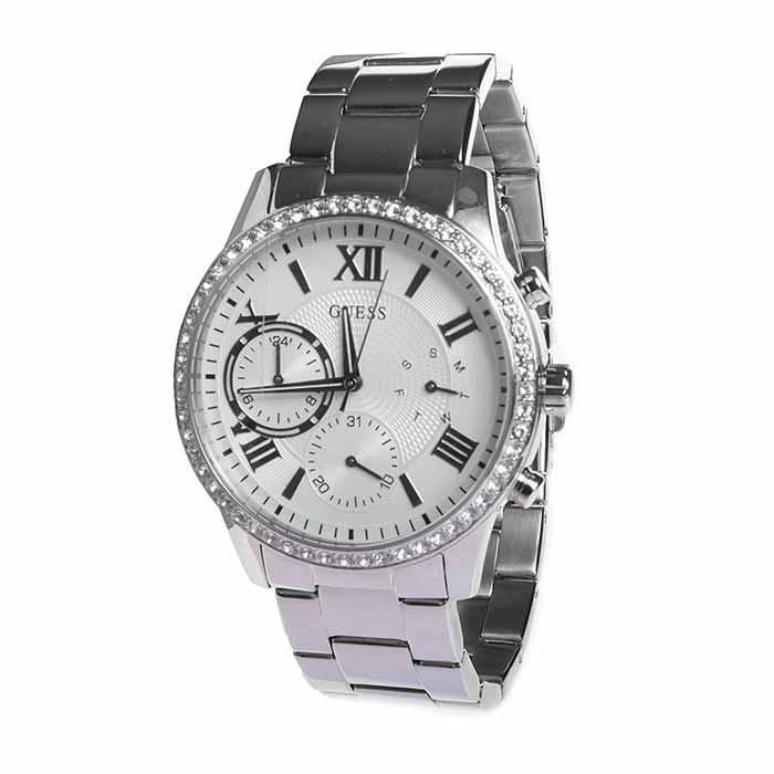 Reloj GUESS Mujer SOLAR plateado