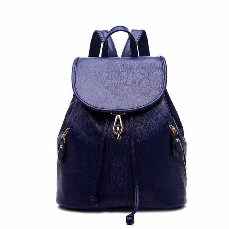 Bolsa tipo mochila en color azul-sofistik2