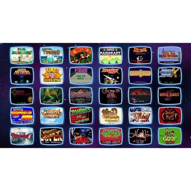 Consola Super Nintendo Mini Snes Classic Original