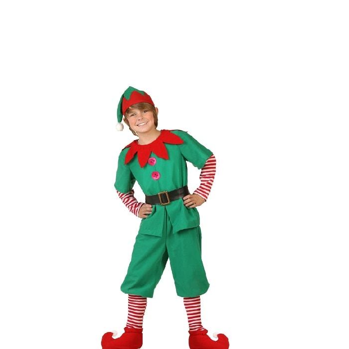Disfraz de Navidad Duende Elfo Niño Festival Pastorela - DISFRACES TuDi
