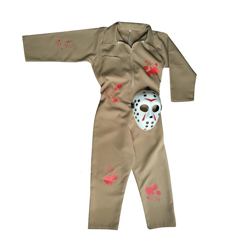 Disfraz de Halloween Hockey Killer Muerte Niño - DISFRACES TuDi