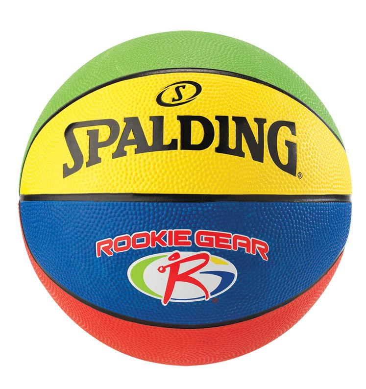 BALON BASQUETBOL SPALDING JR NBA/ROOKIE GEAR COLORES HULE #5