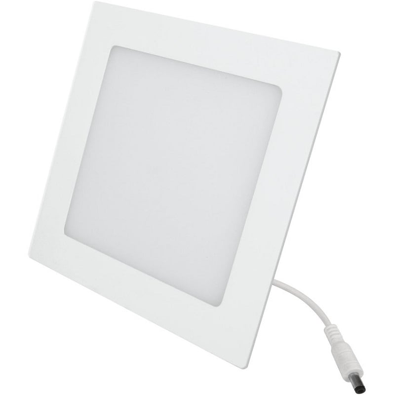 Luminario Empotrable LED Aksi Cuadrado-6W Luz Blanca