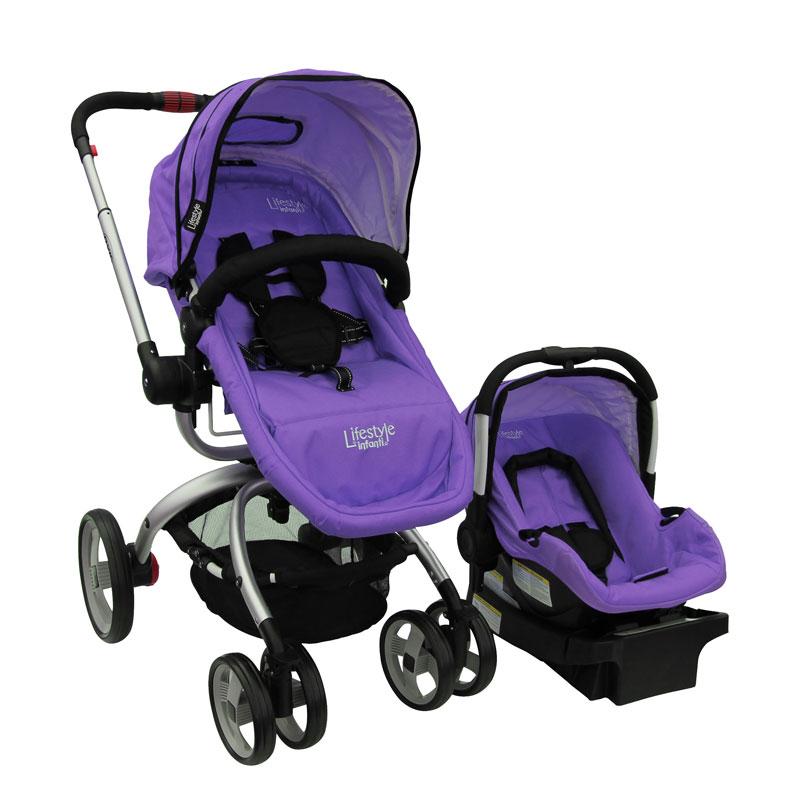 Carriola 4 En 1 Axis Plain Purple