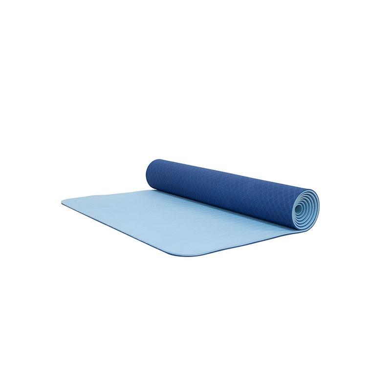 Tapete De Yoga / Yoga Mat 6mm  Bodyfit Bf-ym06tx-az Azul