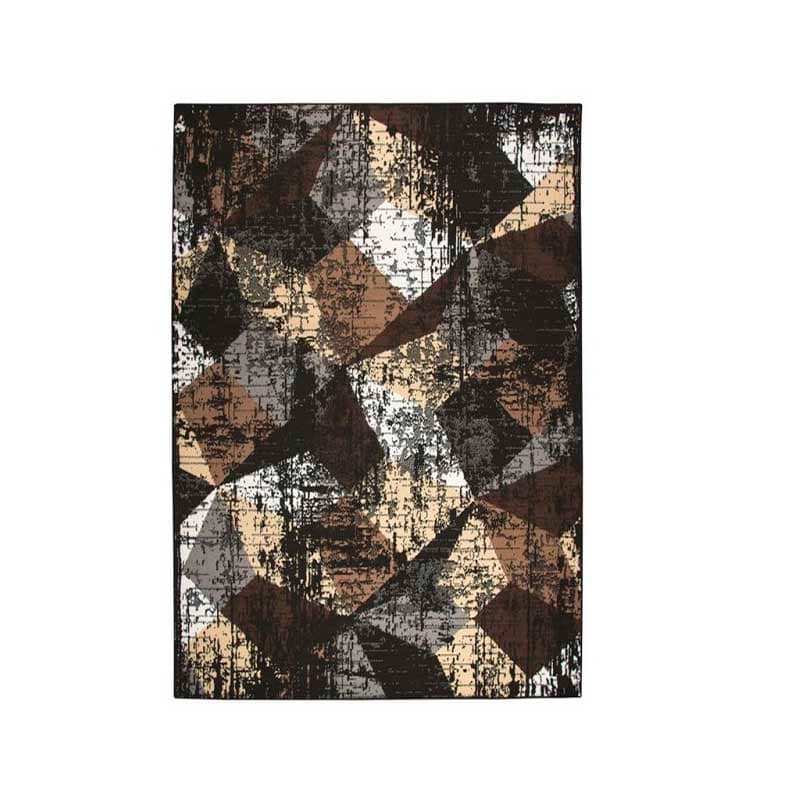 Alfombra Decorativa Multi Colores  Oscuros - Coaster 970227L