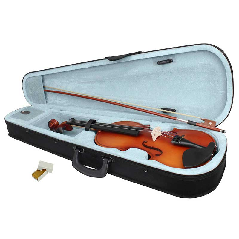 Violin 4/4 Acustico Profesional Madera Estuche Y Accesorios - Madera