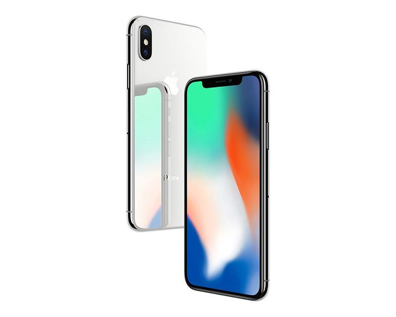 iPhone X Apple color Silver 256 GB Telcel