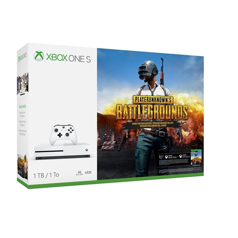 CONSOLA XBOX ONE S 1TB EDITION EDICIÓN BATTLEGROUNDS NUEVO