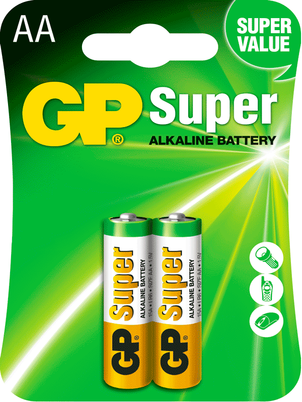 Pilas GP Batteries Recargable AA Smart  Energy