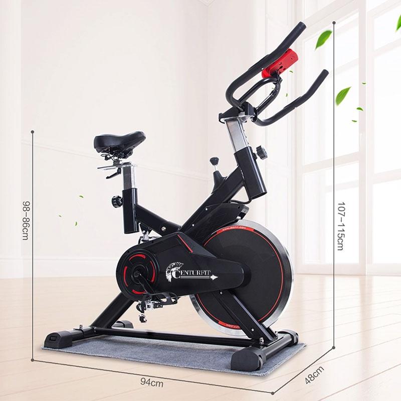 Bicicleta Spinning Centurfit 8kg Rueda Fitness Ejercicio