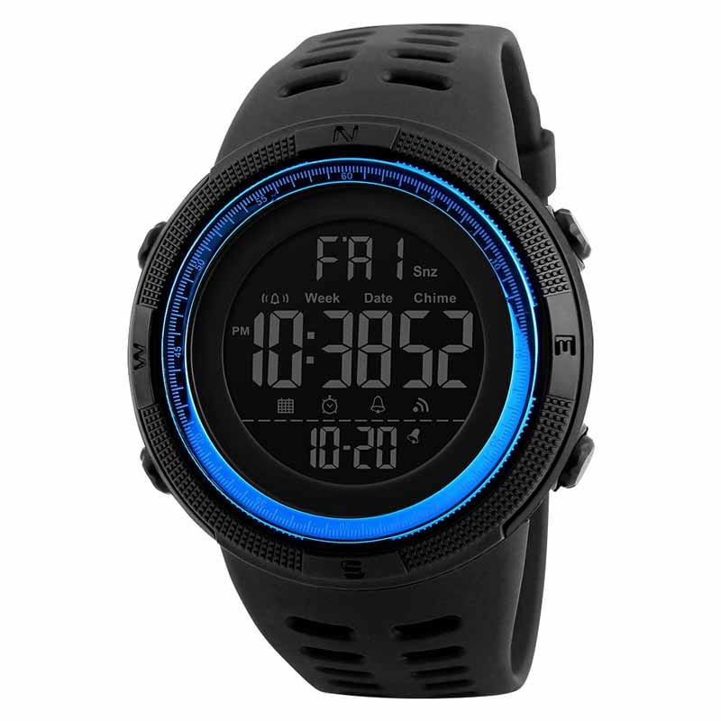 Redlemon Reloj Skmei para Hombre, Digital, Deportivo, Retroiluminado, Modelo 1251