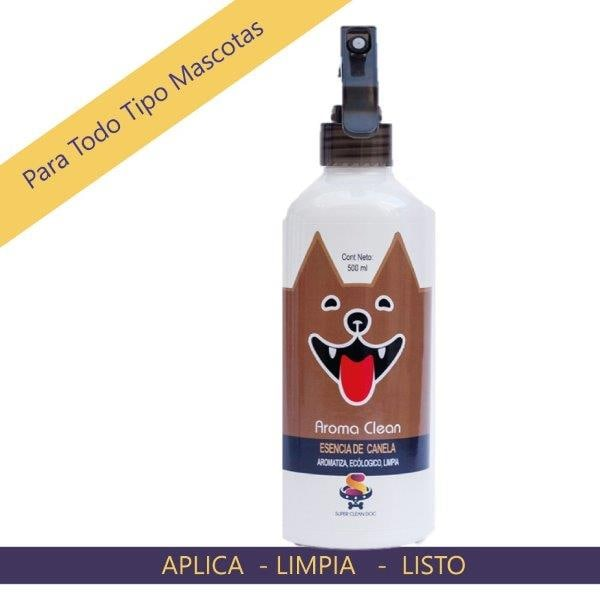 Aroma Clean Canela 500 ml / sin olor perruno
