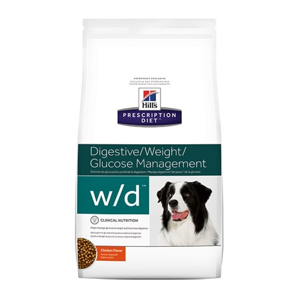 Hills W/D Bajo en grasa, Diabético, Gastrointestinal  12,5 kg