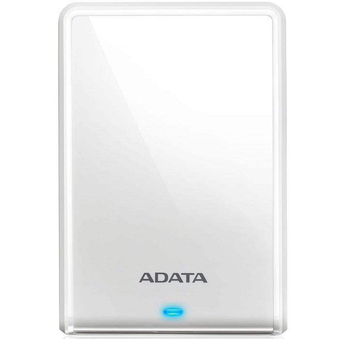 Disco Duro Externo Adata HV620S 4 TB USB 3.0 Blanco AHV620S-4TU31-CWH