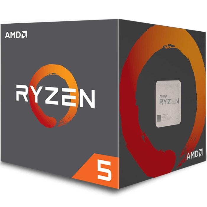 Procesador AMD Ryzen 5 2600X SixCore 3.6 GHz 19 MB Socket AM4