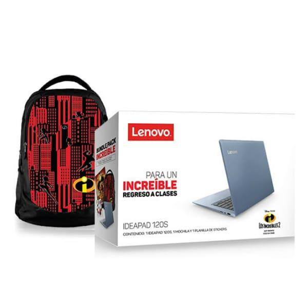 Laptop Lenovo 120s14iap Celeron Ram 2gb 32gb Ssd + Mochila Increibles