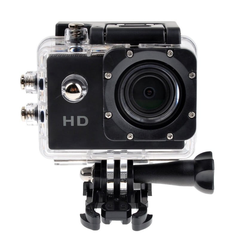 Camara Tipo Go Pro Sumergible 30 Mts 12mp Hd 1080p Accesoris gopro BYTESHOP